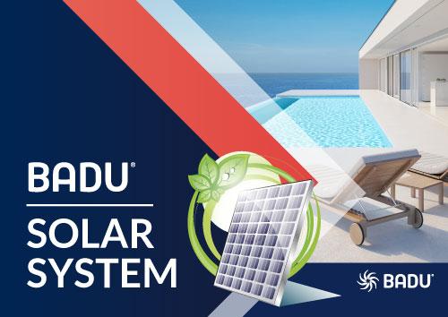 BADU Solar System | Solar power pool or Koi pond pumps
