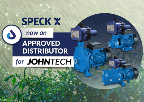 Speck is now an approved distributor for JOHNTECH