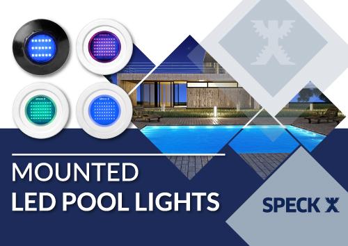 Mounted LED Pool lights
