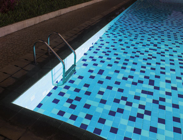 Retro fitted pool lights