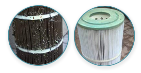 Cartridge-Filter-Cleaning-Comb-Brush--before-and-after